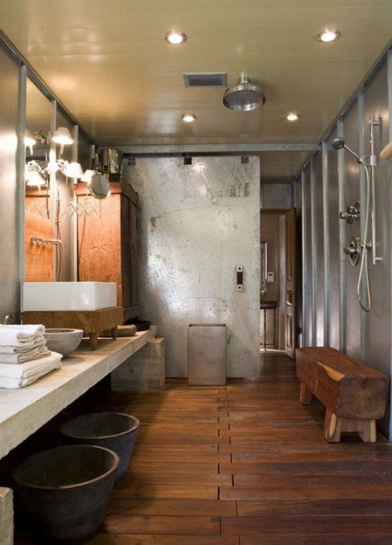 The clustered bathroom