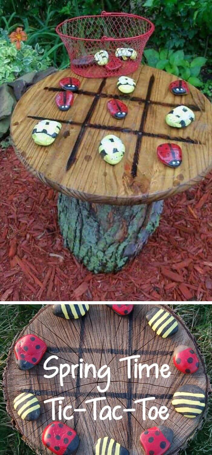 Beach Stones Outdoor Game tables