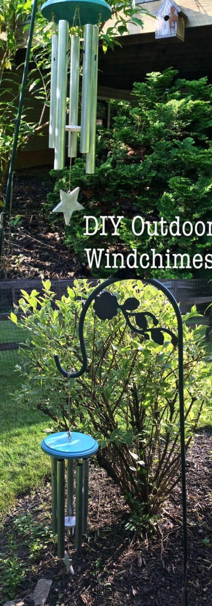 Backyard DIY Wind Chime
