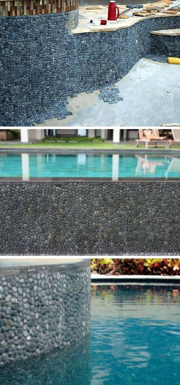Beach Stones Wall Patches