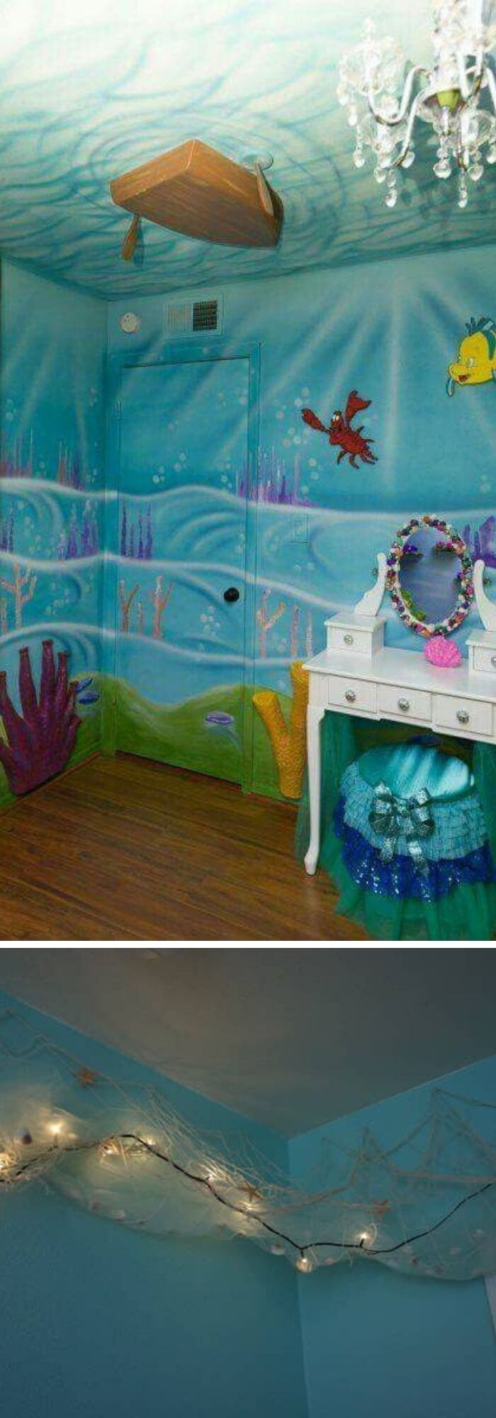 Is your kid a mermaid lover? If yes, then this DIY will bring a spark in their eyes