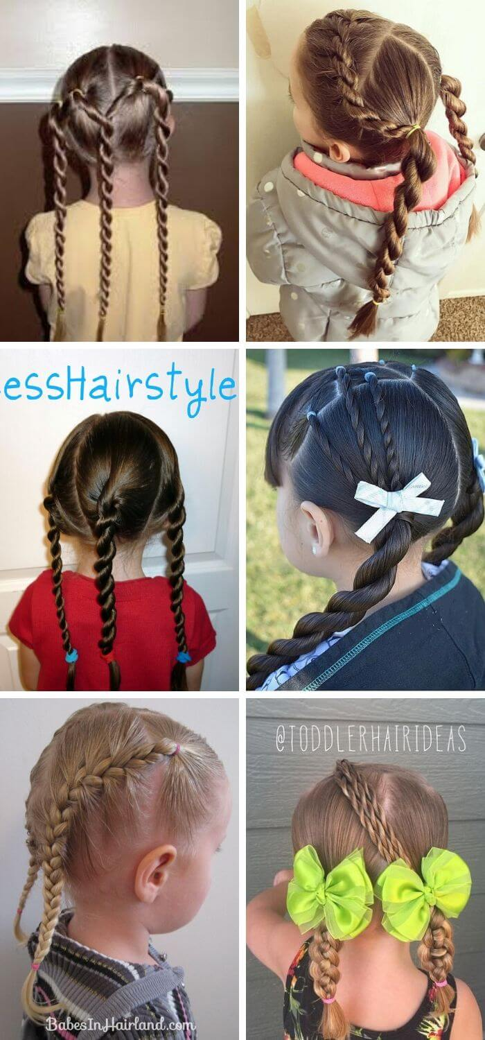 Triple Twist with Braided pigtails