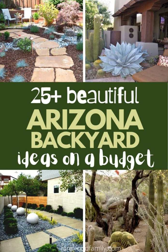 Simple and cheap Arizona backyard landscaping ideas and designs