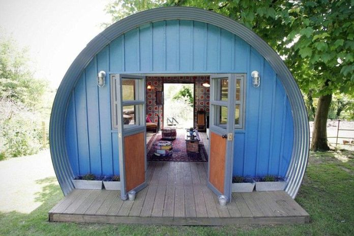 Backyard Quonset Homes