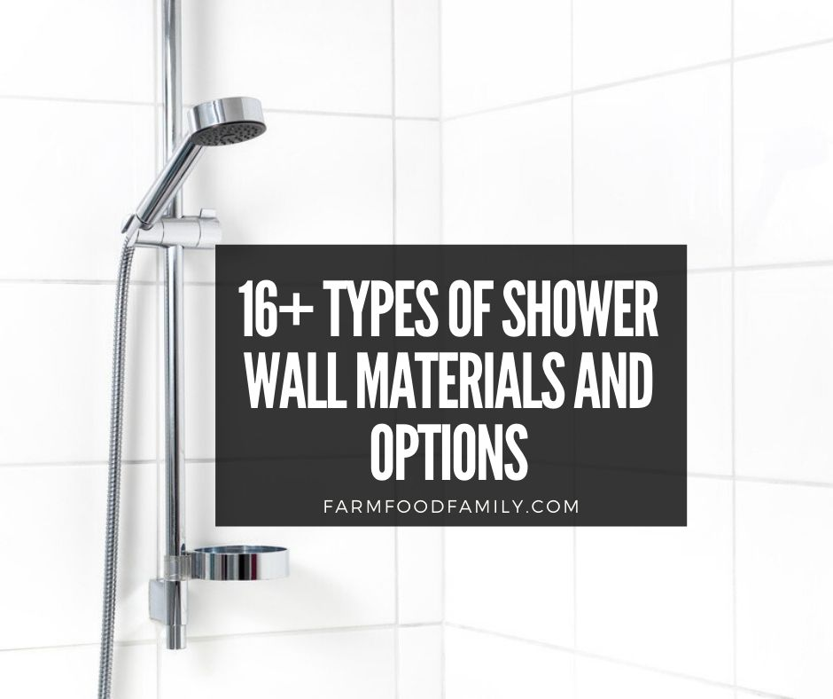 material for shower walls