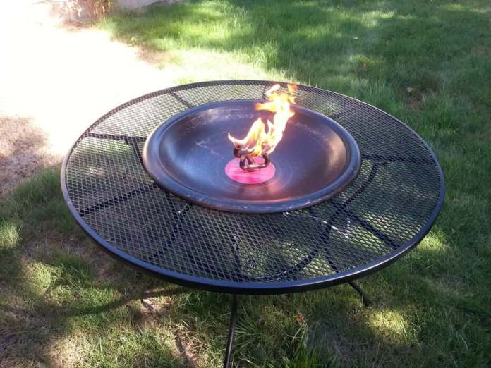Propane Patio Table