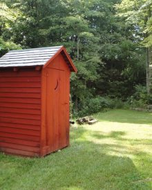 The Problem With Outhouses