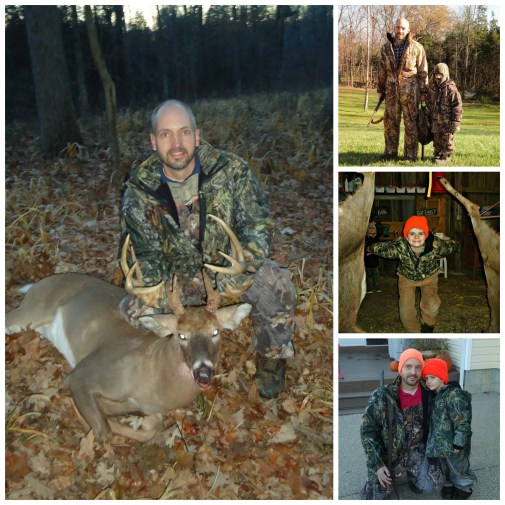fall hunting Collage