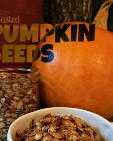 Old Fashioned Roasted Pumpkin Seeds – YUM!