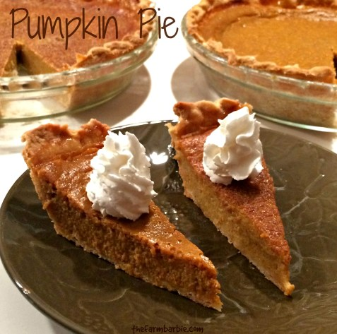 pumpkin pie 18