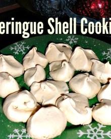 Meringue Shell Cookies Recipe