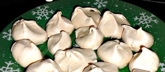 Meringue Shell Cookies  aka  Forgotten Cookies – The Best Recipe Ever