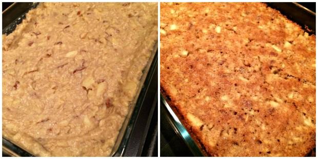 apple tart Collage