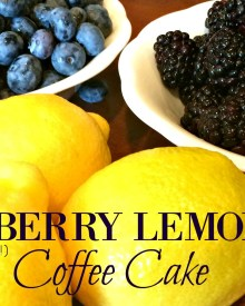 Blueberry Lemon Coffee Cake Recipe