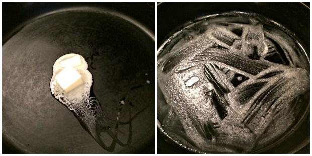 pancake skillet Collage