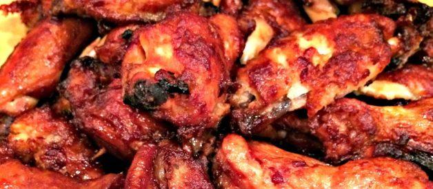Sweet & Sticky Chicken Wings
