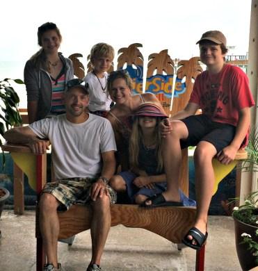 family at beach 1