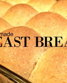 Basic Yeast Dough – Slightly Sweet, Homemade, Easy
