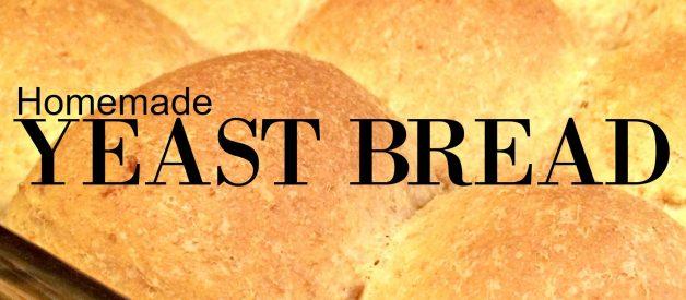 Basic Yeast Dough – Slightly Sweet, Homemade, Easy