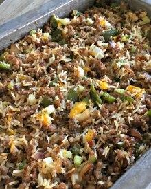 Sausage & Rice Casserole Recipe