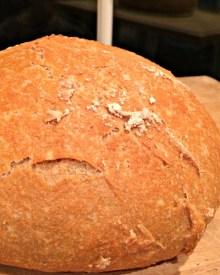 Homemade Artisan Bread – 5 Ingredients – Takes 5 Minutes! (Premium)