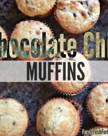 Chocolate Chip Muffins (Premium)