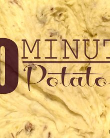 10 Minute Potatoes and Why I'm the Music Natzi (Premium)