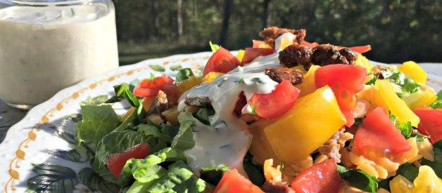BLT Salad with Homemade Ranch Dressing (Premium)