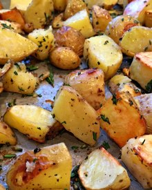 Rosemary Roasted Potatoes (Premium) Fast & Easy