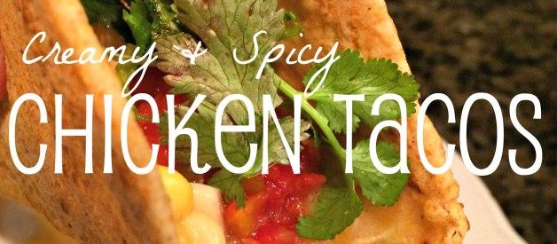 Creamy & Spicy Chicken Tortillas (Premium)