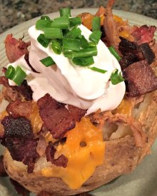 Loaded Baked Potato Dinner (Premium)