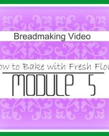 How to Bake With Fresh Flour – Video (Premium)