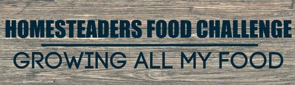 Homesteaders Food Challenge