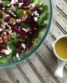 Beet Salad with Feta and Lemon Vinaigrette (Premium)