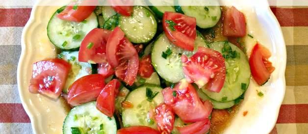 Marinated Cucumber Salad (Premium)