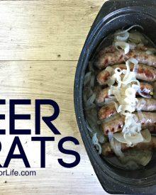 Beer Brats (Premium)