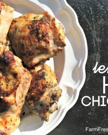 Lemon Herb Grilled Chicken (Premium)