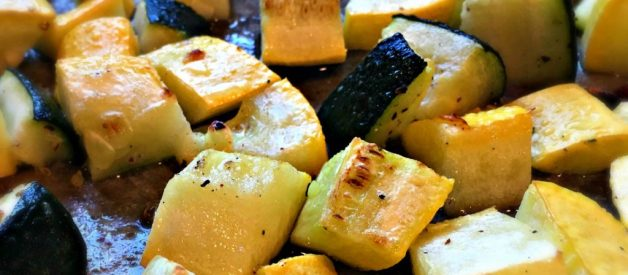 Oven Roasted Summer Squash (Premium)