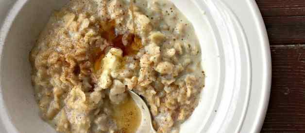 Creamy Maple Oatmeal (Premium)