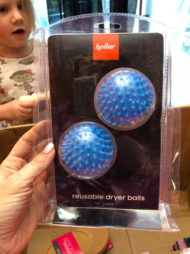 hollar review dollar store online reusable dryer balls