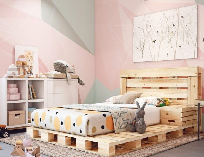 how to make a pallet bed step by step