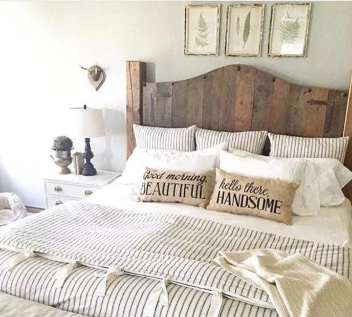 farmhouse beds pillow