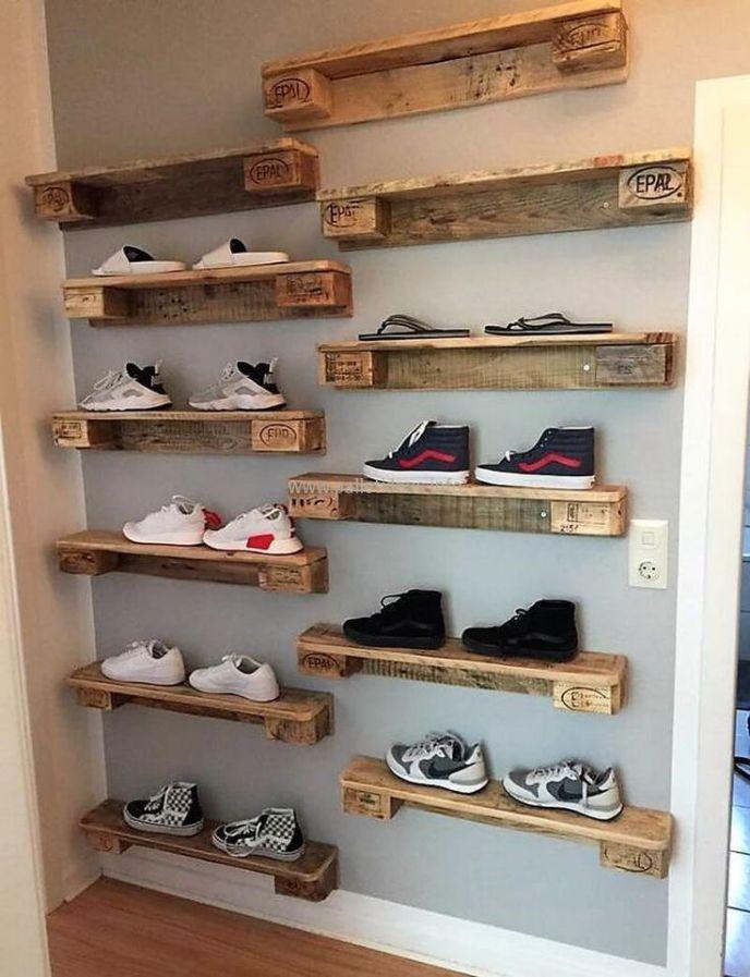 pallet shelves ideas