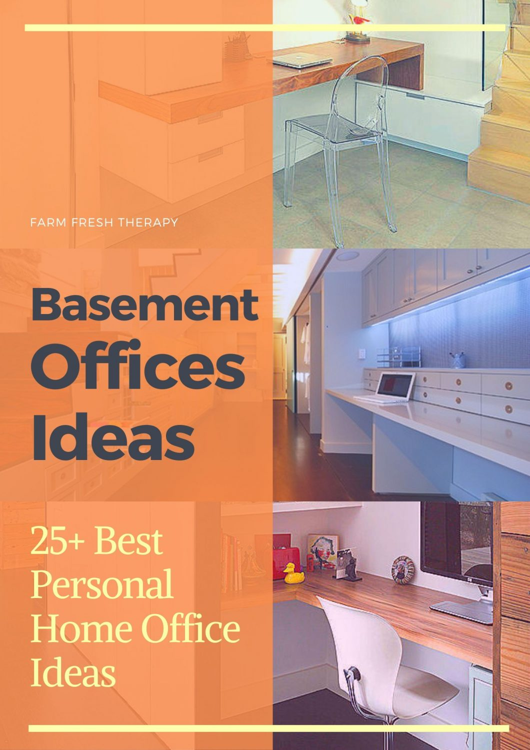 Basement Offices Ideas