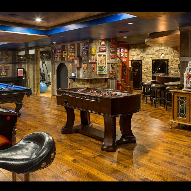 vintage basement ideas
