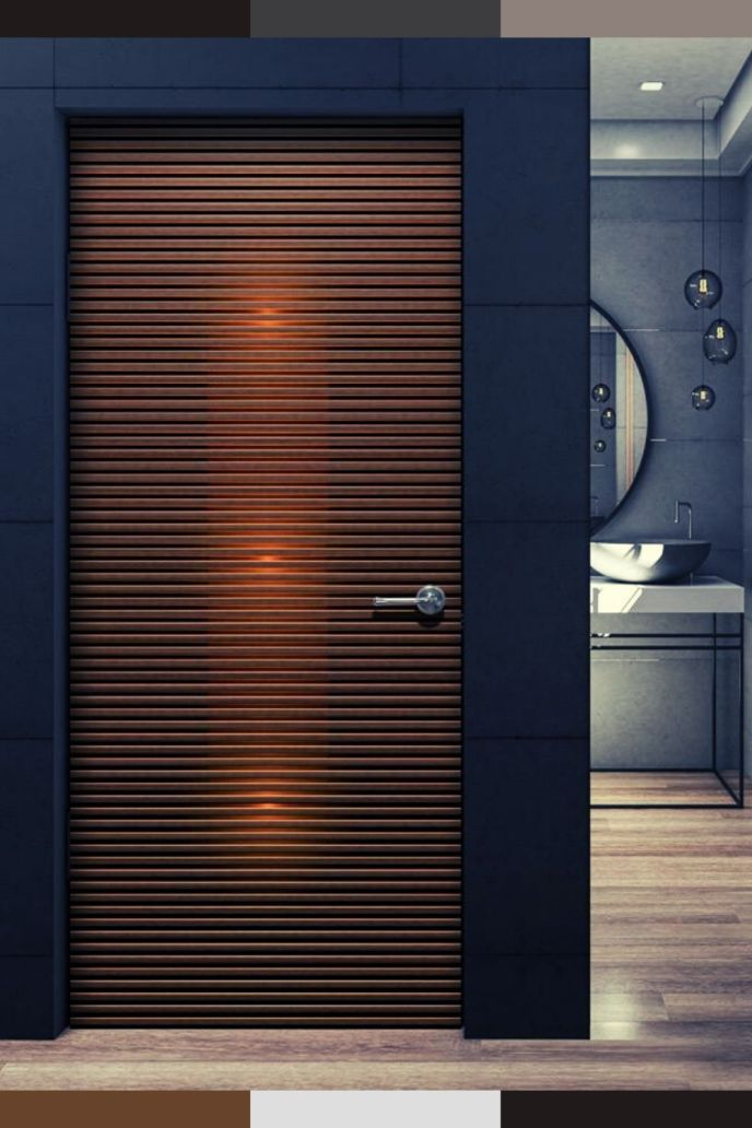 bathroom entry door ideas