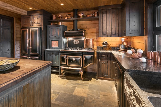 l-shaped country kitchen ideas