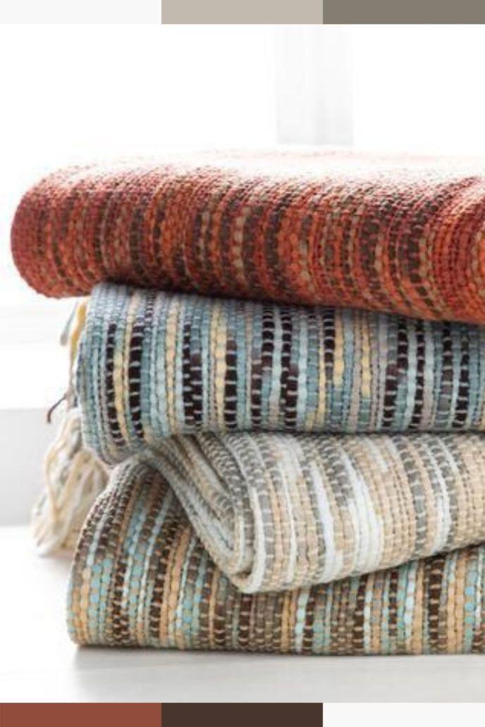 woven acrylic blankets