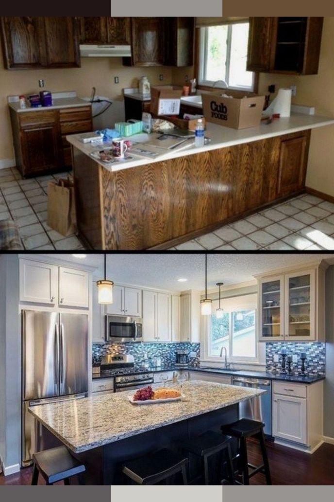 kitchen condo remodel in arlington va