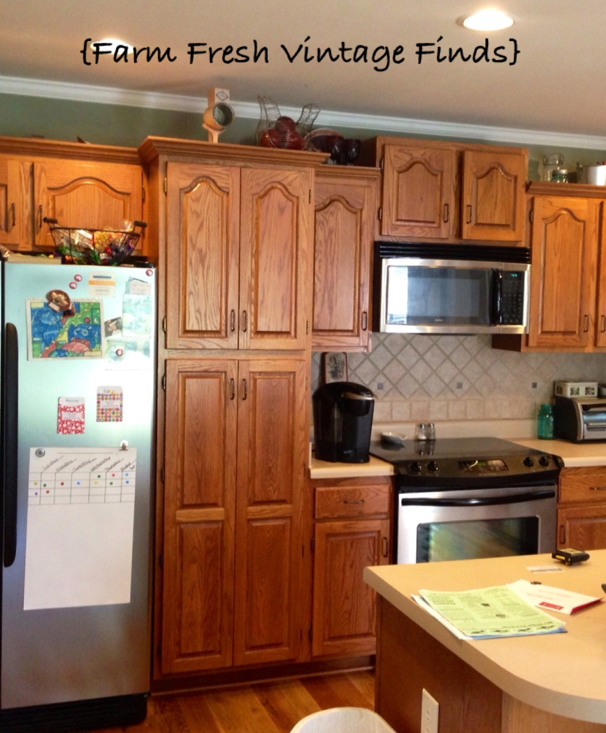 How To Paint Your Kitchen Cabinets Using Annie Sloan The